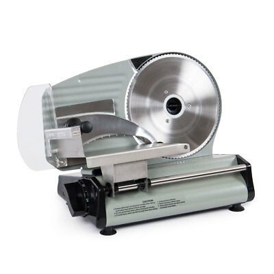 8-7 Commercial 180W Electric Meat Slicer Blade Deli Cutter Veggies Kitchen CE