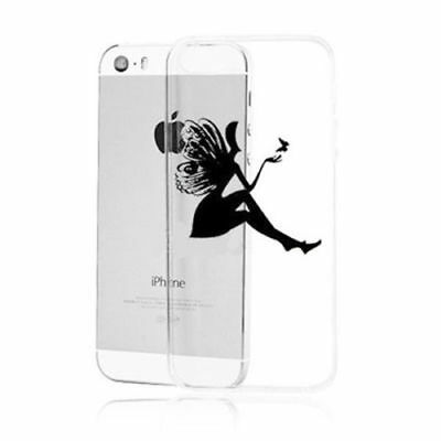 Ultra Thin Transparent Back Case Cover skin For iPhone 4S 5 5S 5C  6 - 6 plus