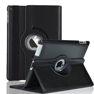 360 Folio PU Leather Cover Stand Case For Apple iPad 2 3 4  2nd 3rd 4th Gen 9-7