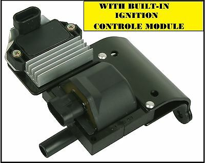 NEW IGNITION COIL DR49 WITH BUILT-IN CONTROL MODULE GM MOST 4-3L 5-7L 7-4L
