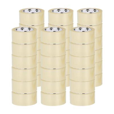 36 Rolls Clear Packing Packaging Carton Sealing Tape 2x110 Yards