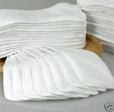 NEW 23 LAYERS MICROFIBER CLOTH INSERTS LINER FOR CLOTH DIAPER WASHABLE REUSABLE