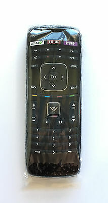 New VIZIO XRT112 LED SMART TV Remote Replacement with Amazon Netflix - M-GO Keys
