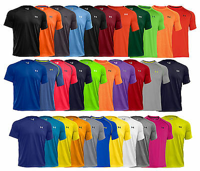 New Under Armour Tech Mens Athletic Short Sleeve T Shirt 1228539 All Colors