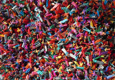 140 Tiny Worry Dolls - Guatemalan Trouble Doll Handmade Mayan -  US Seller NEW