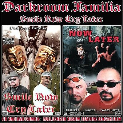 DarkRoom Familia - Smile Now Cry Later New CD Explicit With DVD