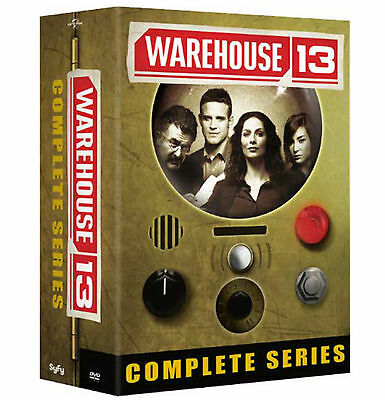 Warehouse 13 The Complete Series 16 Disc DVD Gift Box Set  BRAND NEW