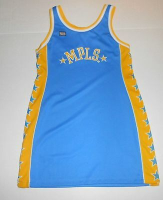 LOS ANGELES ANGLES LAKERS MPLS NBA HARDWOOD CLASSICS JERSEY DRESS WOMENS