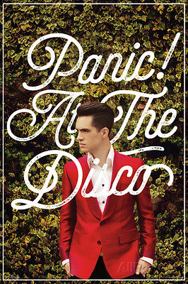 Panic At The Disco- Green Ivy - Red Suit Poster Print 24x36