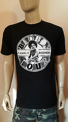 Bad Boy Family Reunion - T-Shirt  P Diddy Biggie Smalls  The Notorious Tour Tee