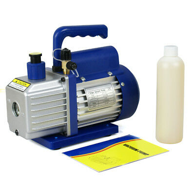35 CFM Rotary Vane Vacuum Pump 14HP HVAC R134a Air Refrigerant Conditioning