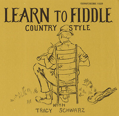 Tracy Schwarz - Learn to Fiddle Country Style New CD