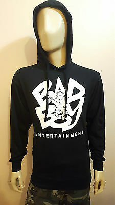 Bad Boy Entertainment Jersey Pullover Hoodies Diddy Biggie Smalls big  T-Shirt