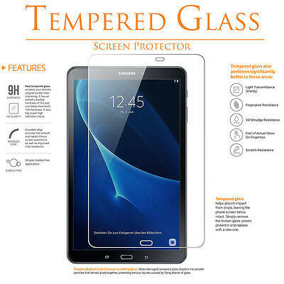 Tempered GLASS  FILM Screen Protector for SAMSUNG GALAXY TAB A 7-0 8-0 9-7 10-1