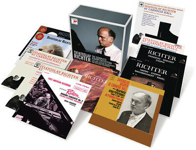 Sviatoslav Richter - Complete Album Collection New CD Boxed Set