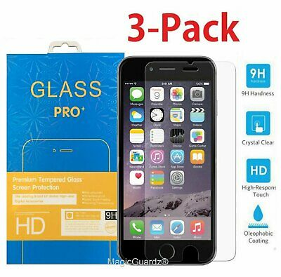 Premium Real Tempered Glass Film Screen Protector for Apple iPhone 5 6 6s Plus