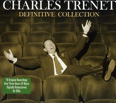 Charles Tr net - Definitive Collection New CD UK - Import