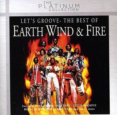 Earth Wind - Fire - Lets Groove-The Best of New CD Holland