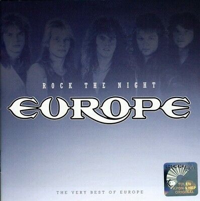Europe - Rock the Night-Very Best of New CD Italy - Import
