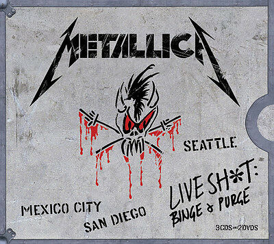 Metallica - Live Shit Binge - Purge New CD With DVD