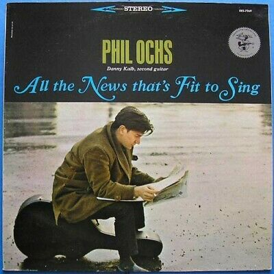 Phil Ochs - All The News Thats Fit To Sing New Vinyl