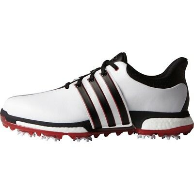 NEW MEN'S ADIDAS TOUR 360 BOOST GOLF SHOES WHITERED F33248F33260- PICK A SIZE