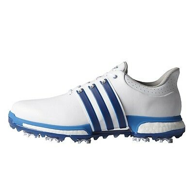 NEW MEN'S ADIDAS TOUR 360 BOOST GOLF SHOES WHITEBLUE F33252F33264- PICK A SIZE