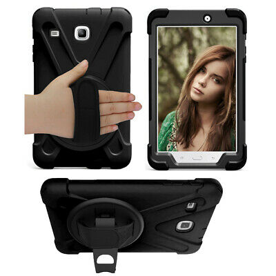 Shockproof Hybrid PC Hard Case Cover for Samsung Galaxy Tab E 8 8-0 T377 SM-T377