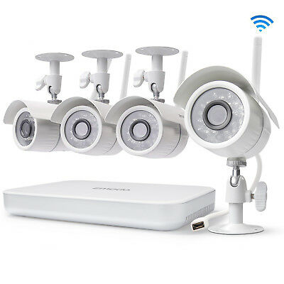 Funlux 1080p 8CH NVR 1-0 Megapixel HD Wireless Home Security Camera System 1TB