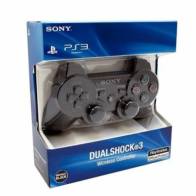 Brand new Sony Playstation 3 PS3 Dualshock 3 wireless sixAxis controller