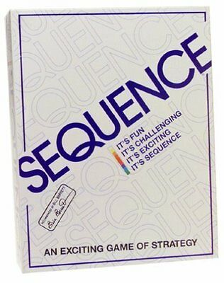 Jax Sequence Strategy Board Game New SEALED Ships Free SAMEDAY Expedited No Tax