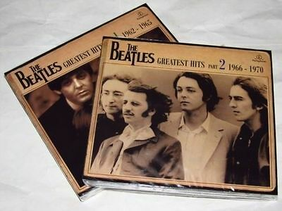 THE BEATLES Vol 1 - 2 - Greatest Hits - 4CD