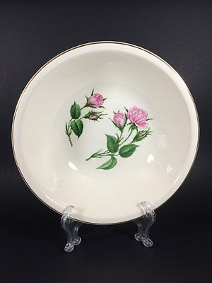 Paden City Pottery Moss Rose 8 Round Vegetable Bowl