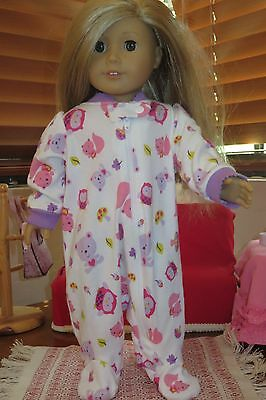 Set of pijamas for 18 inch doll