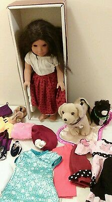 American Girl Doll of the Year Josephina lot with box and clothing accessories