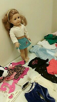 American Girl Doll of the Year Nikki lot with clothing and accessories