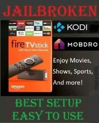 Amazon Fire TV Stick Media Streamer - Tv Addons 17-3 - Newest Version