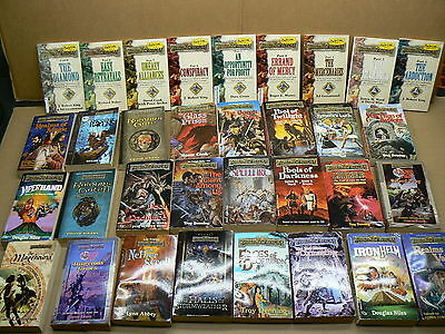 DUNGEONS AND DRAGONS PAPERBACK BOOKS FORGOTTEN REALMS LOT OF 24