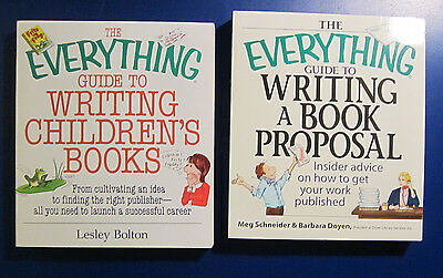 The Everything Guide to Writing Childrens Books - Writing A Book Proposal Lot