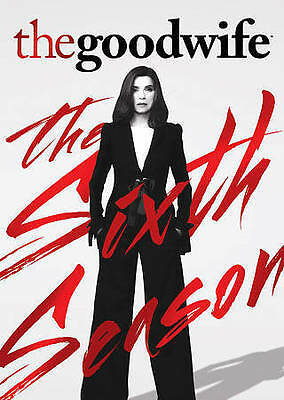 The Good Wife Complete Season 6 DVD 2015 6-Disc Set New