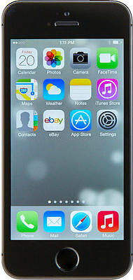 Apple iPhone 5s - 16GB - Space Gray AT-T Smartphone