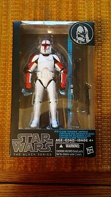 Star Wars The Black Series 13 Clone Trooper Captain 6 Inch Figure Hasbro