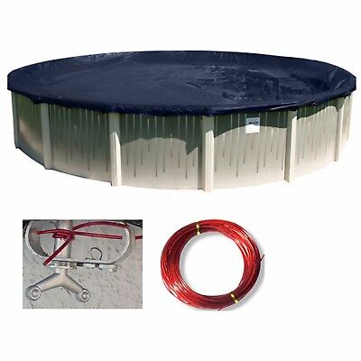 Buffalo Blizzard Round Above Ground Swimming Pool Winter Covers Various Sizes
