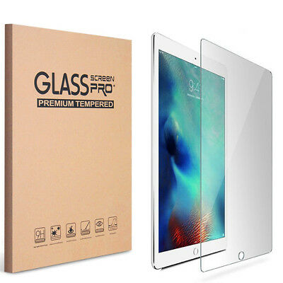 2x Premium 9H HD Tempered Glass Screen Protector For Apple iPad 9-7 2017 5th Gen