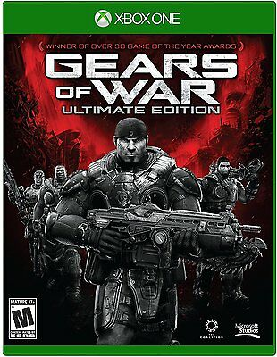 Gears Of War Ultimate Edition Microsoft Xbox One 2015 FREE SHIPPING