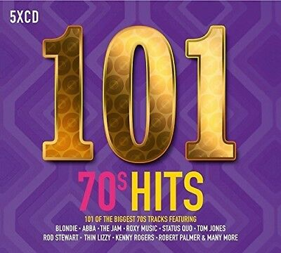 Various Artists - 101 70s Hits  Various New CD UK - Import
