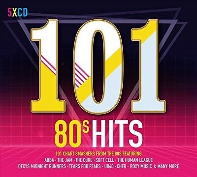 Various Artists - 101 80s Hits  Various New CD UK - Import