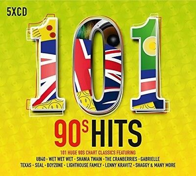 Various Artists - 101 90s Hits  Various New CD UK - Import