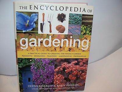 The Encyclopedia of Gardening By Deena Beverley - Barty Phillips Large Book