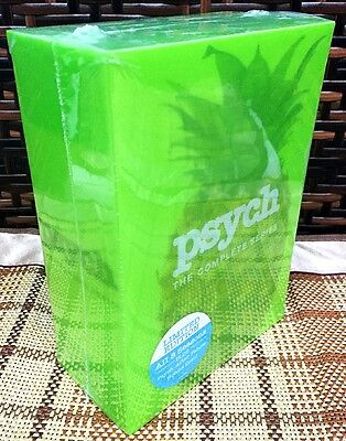 PSYCH The Complete Series Season 1-8 DVD 201431-Disc Set Brand New